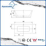 Reine nahtlose freie stehende Luxuxacrylsauerbadewanne (AB6502)