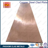 Plaque plaquée en titane en acier au cuivre
