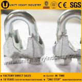 Clip de corde malléable de fil d'acier DIN 741