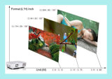 Beweglicher Hauptminiprojektor des 3000 Lumen-Hauptsystems-LED