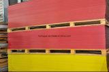 표시판을%s 노란 빨간 투명한 공간 1220X2440mm 4X8FT 아크릴 장