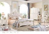 Король Размер Древесина Спальня кровать Мебели 2016 роскошей установленная/французская типа (6602)