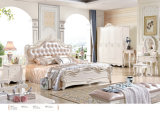 Un re Size Wood Bedroom base impostata/francese della Furniture dei 2017 lussi di stile (906)