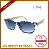 O bambu do OEM F15004 arma vidros de Sun com a lente polarizada