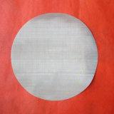 Filtro de disco / malla de filtro / disco de filtro de acero inoxidable con una alta eficiencia de filtración