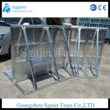 Trolly Barrier Aluminum Road Barricade Road Safety Barrier를 가진 단계 Barrier