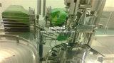 Máquina de relleno y que capsula del líquido inyectable de la pequeña de botellas botella automática del cristal