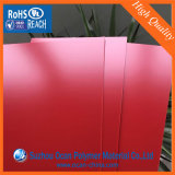 Glattes rotes geprägtes Belüftung-Blatt für stationäres