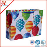 Sacs de papier de cadeau avec des traitements, sac de cadeau de papier d'art, sac de papier d'emballage, sac de papier de achat