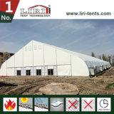 Weißer neuer Luxuxentwurf gebogenes Dach-angemessenes Zelt für Verkauf