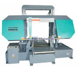 Máquina de sierra de doble columna horizontal Gh4270 Sierra de cinta de metal