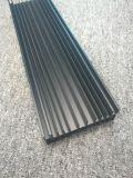 L'alluminio nero anodizzato 6000 leghe personalizzato si è sporto profilo
