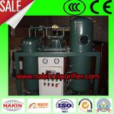 Filtrazione della macchina/olio di trattamento del purificatore di olio della turbina di vuoto dei 600 l/h/olio