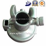 Peças da válvula da carcaça de areia com fazer à máquina do CNC e tratamento térmico (ISO9001: 2008)