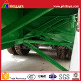 Nuovo rimorchio del contenitore dell'Tri-Asse montato ABS rigoglioso superiore semi