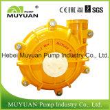 Le parti incastrata di un mattone in aggetto trasportano la pompa ad alta pressione dei residui dell'alimentazione centrifuga della filtropressa