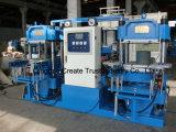 Máquina Vulcanizing da imprensa da placa de borracha automática cheia para o silicone de borracha