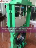 Residui Knife Gate Valve con Nr Seat Ring