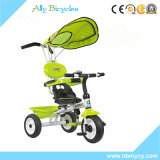 triciclo del bambino 4in1 con la barra di spinta/bambino Trike baldacchino dell'ombrello per il bambino