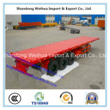 Container Flatbed Trailer for Shipping 20FT Container