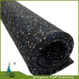 Отсутствие настила легкой установки запаха резиновый для крытое напольного