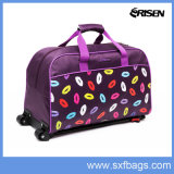 600dポリエステル安いDuffleの学校のトロリー旅行袋