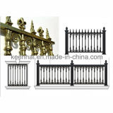 Villa Securityのための力のCoated Cast Aluminum Metalの庭Fence