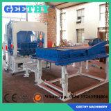 Máquina de fatura de tijolo automática da areia da poeira de carvão de Qt4-15c