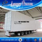 Tipo da caixa reboque de Van da manufatura de China Semi para a venda (opcionais por etapas)