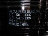 染料: 硫黄の黒(1)のブロム240%
