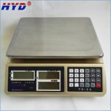 Balanza electrónica con la visualización grande 30kg del LCD