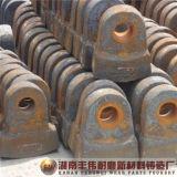La meilleure plaque de marteau de fer de bâti de qualité pour le concasseur à marteaux