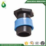 Encaixes métricos plásticos para o sistema de tubulação da irrigação
