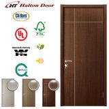 Дверь полной нутряной золы деревянная с украшением прокладки алюминиевого сплава