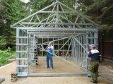 Construcción casera viva de la instalación de la casa prefabricada africana rápida de la larga vida