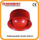 2ワイヤー、壁に取り付けられたアドレス指定可能な音響器(640-001)