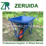 Carrinho de mão de roda europeu galvanizado (WB4024A)