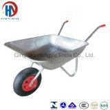 Carrinho de mão de roda da ferramenta Wb0102 do brinquedo do metal da boa qualidade do miúdo