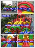 Cidade inflável do divertimento do parque de diversões (MIC-638)