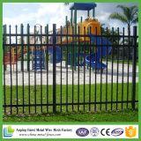粉によって塗られる電流を通された金属の防御フェンス