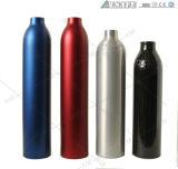 Cilindri appiattiti riutilizzabili dell'alluminio del gas di specialità