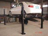 Подъем стоянкы автомобилей автомобиля оборудования стоянкы автомобилей гаража конструкции 4 столбов франтовской с колесами и Jacks