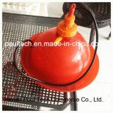 Bebedor automático del pollo del equipo de la jaula del pollo (plástico)