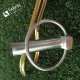 Zinc Plated Split Pins Cuello Pines R Pins, Pelo Pin