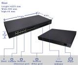 Accesos Olt de Gpon/Epon 8 Pon para el módem de la red ONU de FTTX