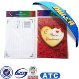 De Plastic Lenticular 3D Prentbriefkaar van de douane