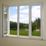 Thermischer Bruch-Aluminiumflügelfenster-Fenster mit Netz 304ss (55 Serien)