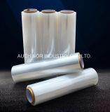 판매 손 뻗기 필름 LLDPE 물자 PE 뻗기 필름 깔판 Strech 최신 필름