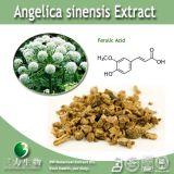 Acide férulique naturel de l'extrait 1% de Sinensis d'angélique officinale de 100%