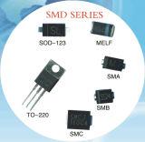 Диод выпрямителя тока Ss34/Sk34 барьера Schottky (случай SMA)